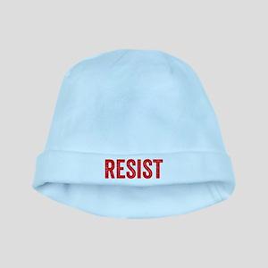Resist Hashtag Anti Donald Trump baby hat