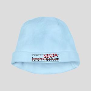 Job Ninja Loan Officer baby hat