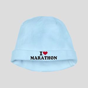 I love Marathon baby hat