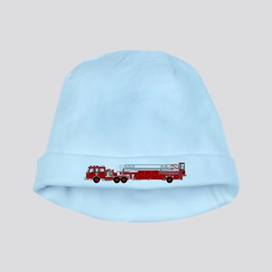 Fire Truck - Traditional ladder fire truc baby hat