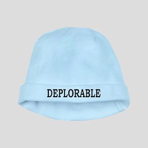 DEPLORABLE baby hat