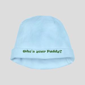Who's your Paddy? Irish Shamrock baby hat