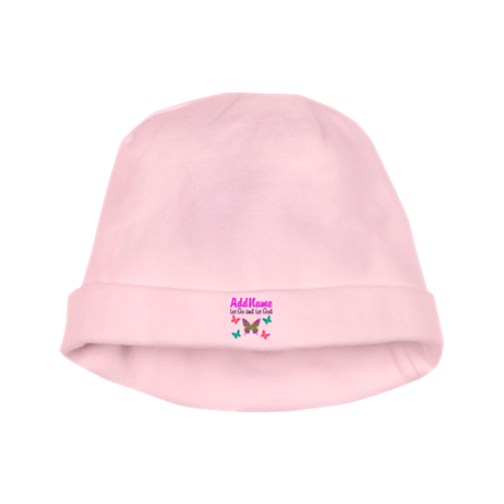 LET GO AND LET GOD baby hat