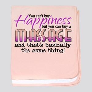 Happiness Massage baby blanket