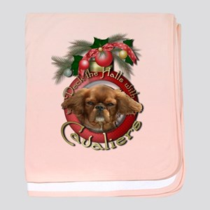 Christmas - Deck the Halls - Cavaliers baby blanke