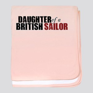 Daughter of a British Sailor - baby blanket