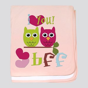 BFF Love baby blanket