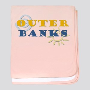 Outer Banks baby blanket