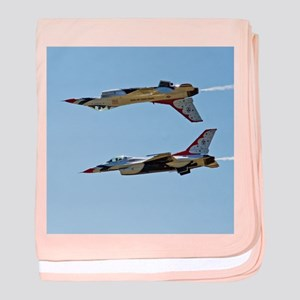 Thunderbirds 5 and 6 Tail to Tail baby blanket