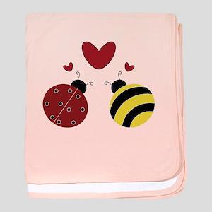 Ladybug/Bumble Bee baby blanket