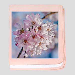 Japanese Cherry Blossoms baby blanket