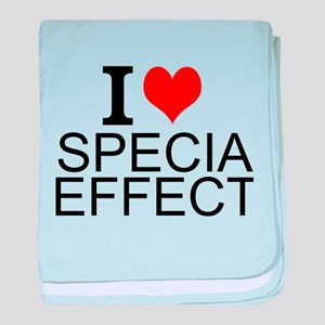 I Love Special Effects baby blanket