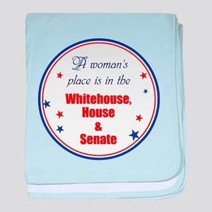 A woman's place is in the White house, house, sena