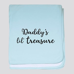 Daddy's Treasure baby blanket