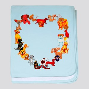 Dog Love Infant Blanket