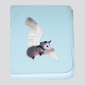 Angel Possum baby blanket