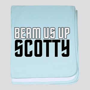 Beam Us Up Scotty Infant Blanket