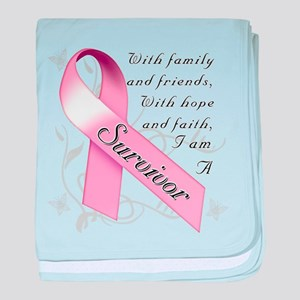 Breast Cancer Survivor baby blanket