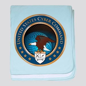United States Cyber Command baby blanket
