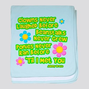 Clowns Never Laughed Before Infant Blanket