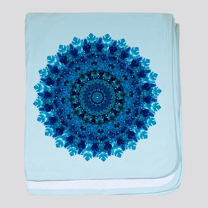 Dotty Love Mandala Kaleidoscope baby blanket