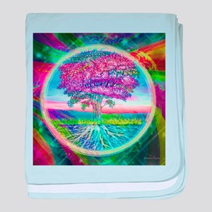 Tree of Life Blessings baby blanket