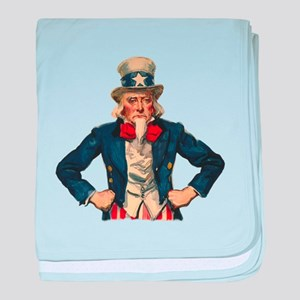 Uncle Sam baby blanket