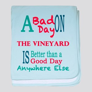 The Vineyard baby blanket