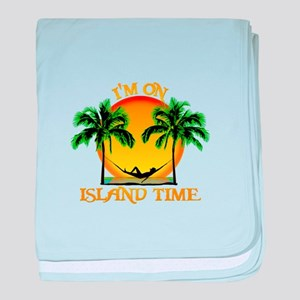Island Time baby blanket