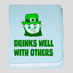 Drinks Well with Others 31201 baby blanket