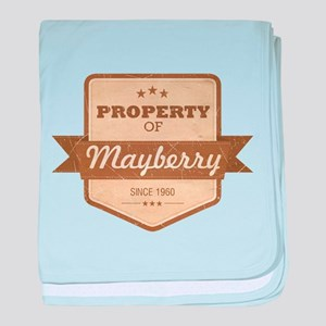 Property of Mayberry Infant Blanket