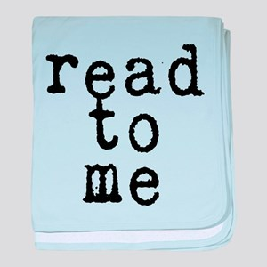 read to me 10x10 baby blanket