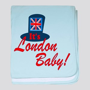 It's London Baby Friends TV baby blanket