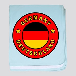 Germany Deutschland baby blanket