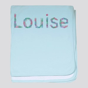 Louise Paper Clips baby blanket