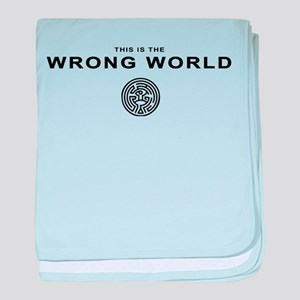 Wrong World_design baby blanket