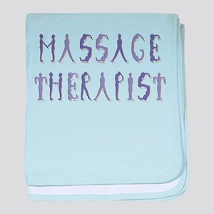 Massage Therapist baby blanket