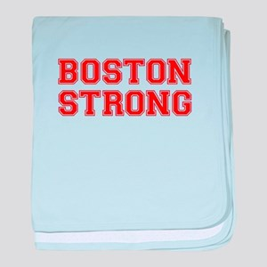 boston-strong-car-red baby blanket