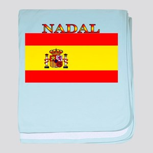 Nadal Spain Spanish Flag baby blanket