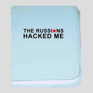 the russians hacked me baby blanket