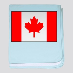 Flag of Canada 1 baby blanket