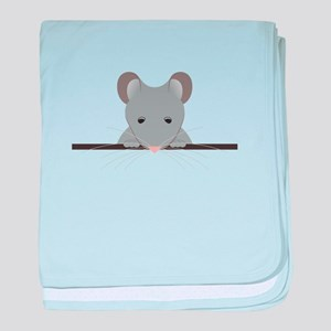 Pocket Mouse baby blanket