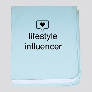 Lifestyle Influencer baby blanket