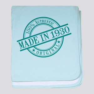 Made in 1930 baby blanket