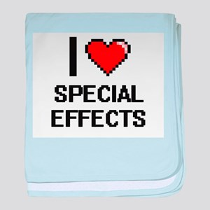 I love Special Effects Digital Design baby blanket