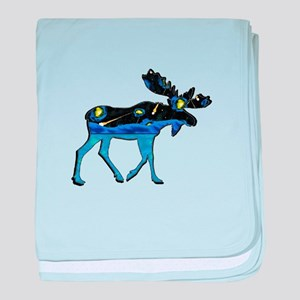 MOOSE IT baby blanket