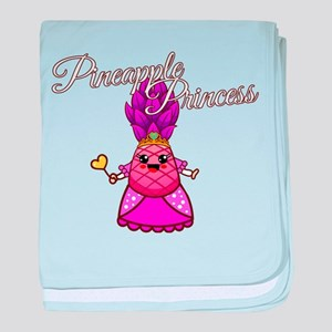 Pineapple Princess - Funny Sarcastic baby blanket