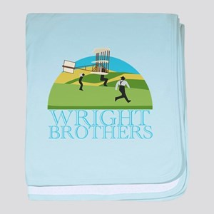Wright Brothers baby blanket