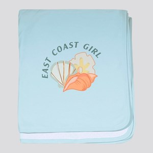 EAST COAST GIRL baby blanket