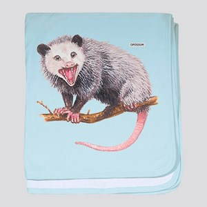 Opossum Possum Animal baby blanket